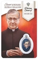 St. Josemaria Escriva - Diabetes Healing Wallet card with Medal