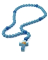 Large Wood Noah's Ark Baby Rosary in Gift Box