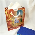 Red Holy Family Christmas Gift Bag - Large