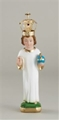 Infant of Prague Statue with Gold Crown - 8 inch
