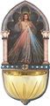 Divine Mercy Multi-Dimensional Holy Water Font