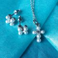 1st Communion Pearl Jewelry Set