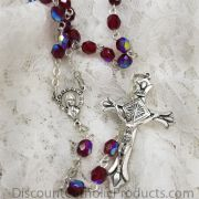 Garnet Dainty Rosary 5mm beads