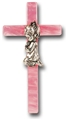 Pearlized Pink Cross-Girl