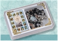 Black Stations of the Cross Rosary Box Set