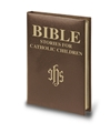 Bible Stories for Catholic Children - brown