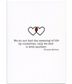 Thomas Merton Meaning Wedding Card