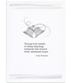 Young Love Wedding Greeting Card