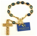 Ghirelli Enameled Miraculous Medal Decade rosary