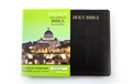 Catholic Companion Edition Bible - Large Print ~ NABRE Black