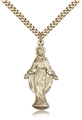 1.25 Inch Mother Mary Figure Pendant