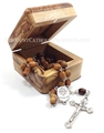 RCIA Rosary in Olivewood Box from Bethlehem