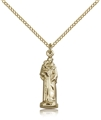 Saint Anthony Statuette Pendant