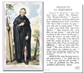 St Peregrine Prayer Card, pack of 100