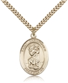 St Christopher Medal with chain