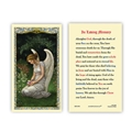 In Loving Memory Laminated Prayer Card