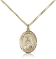 St Teresa Gold Filled Medal