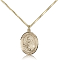 St Theresa Gold Filled Medal