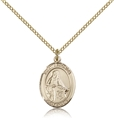 St Veronica Gold Filled Medal