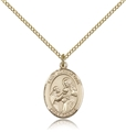 St John of God Gold Filled Medal
