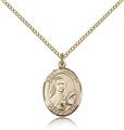 St Therese Gold Filled Medal