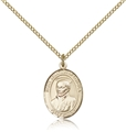 St Ignatius of Loyola Gold Filled Medal