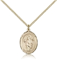 St Aedan Gold Filled Medal