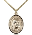 Blessed Teresa of Calcutta Gold Filled Medal