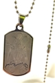Our Lady of the Miraculous Medal Dog Tag