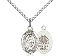 .5 inch Miraculous Sterling Silver Pendant