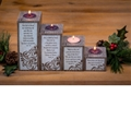 Pillar Advent Set with Tea Lights