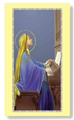 Prayer card to St. Cecilia