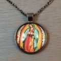 Our Lady of Guadalupe Necklace Pendant