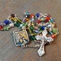 20-inch Colorful Christmas Rosary