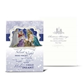 Christmas Nativity with Maji Card, Box of 10