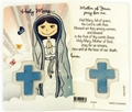 Child's Hail Mary Laminated Prayer Card