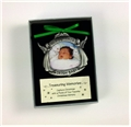 Irish Baby Picture Frame Pewter Ornament