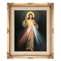 FRAMED ART DIVINE MERCY 16X20
