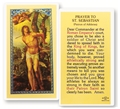 Prayer to St  Sebastian