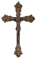 Antiqued Brass Crucifix