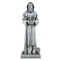 Saint Fiacre Garden Statue 24 Inches Tall
