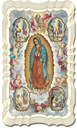 Our Lady of Guadalupe - Mystical Rose Prayer Card