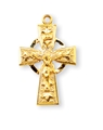 0.75 inch Gold Filled Celtic Crucifix