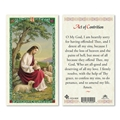 Act of Contrition Laminated Prayer Card