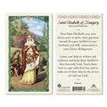 Saint Elizabeth of Hungary Laminated Prayer Card