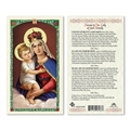 Novena to Our Lady of Good Remedy Laminated Prayer Card