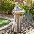 Saint Francis Bird Bath & Feeder