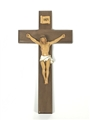 10 inch Walnut and Resin Crucifix