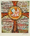 St Augustine Holy Spirit Greeting Card - Jen Norton