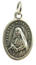 St. Frances Mother Cabrini Oxidzied Medal